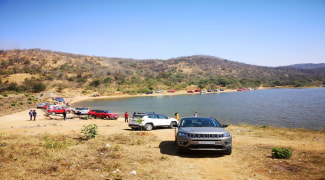 Bangalore Jeep Club Dandiganahalli Lake and Dam Trail