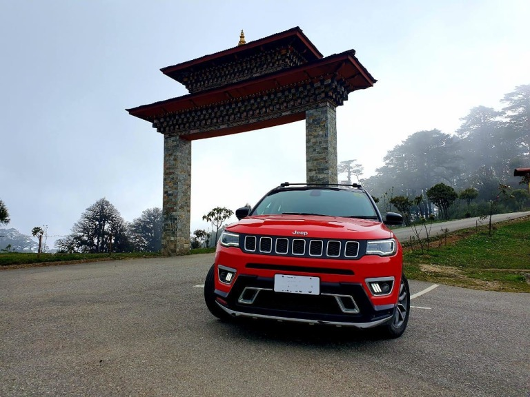 Madras Jeep Club Sikkim Bhutan Trail