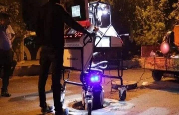 सीवर लाइन की सफाई में रोबोट का इस्तेमाल