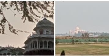 ताज की धवल छवि