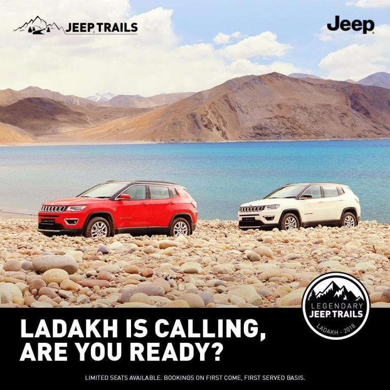 Jeep Ladakh Trail