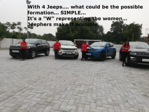 Bangalore Jeep Club JeepHers Ladies Trail