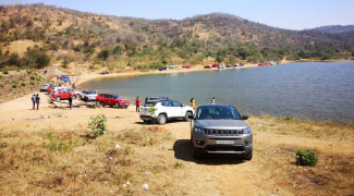 Bangalore Jeep Club Dandiganahalli Lake and Dam Trail