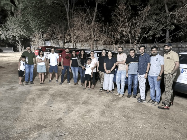 Bangalore Jeep Club Drive In the Dark