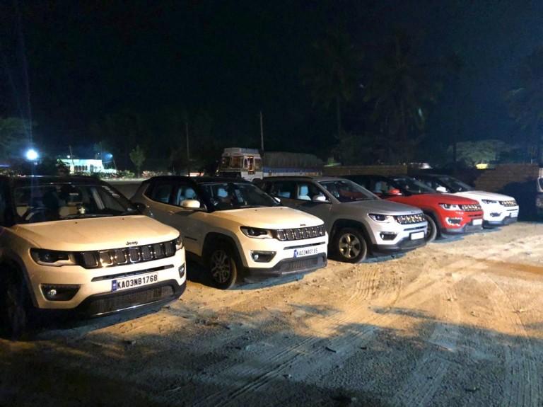 Bangalore Jeep Club Mahendra Dhaba Drive
