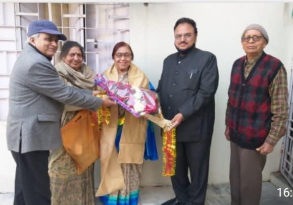 सुप्रसिद्ध साहित्यकार डॉ. उषा यादव को पद्मश्री