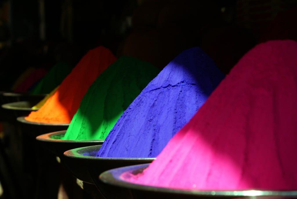 holi colors indian festival