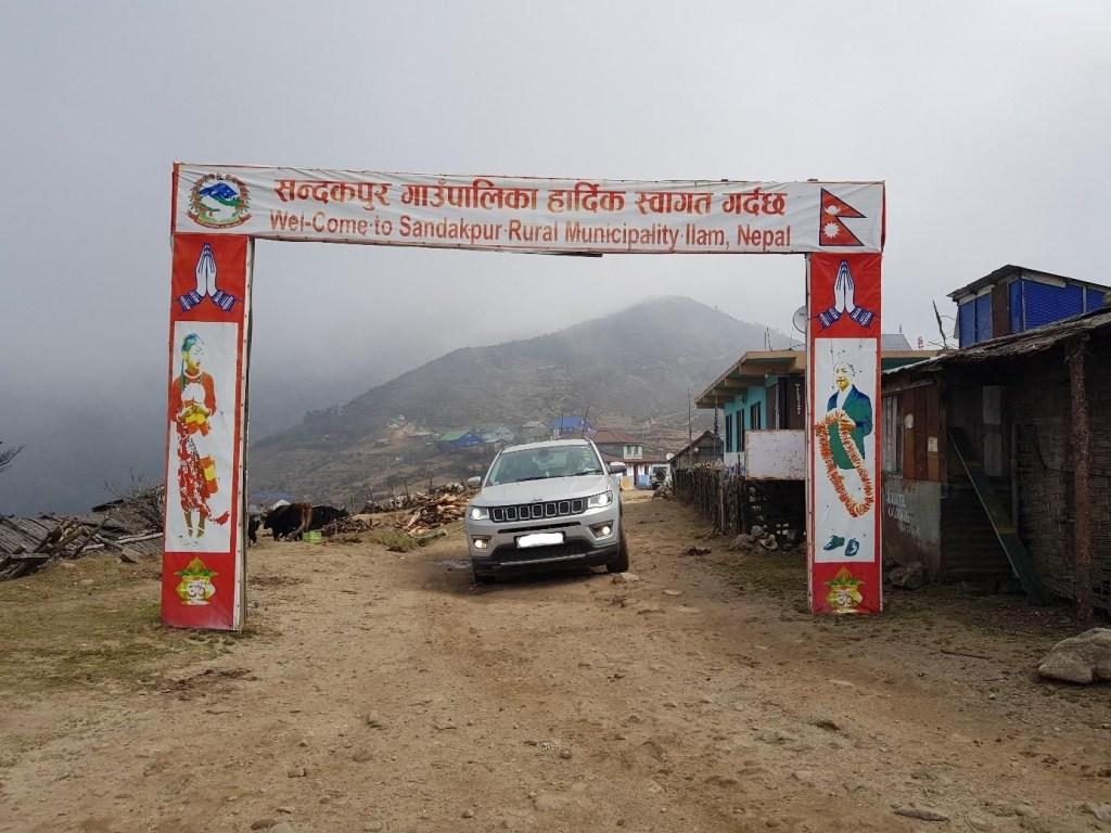 Jeep Sandakphu