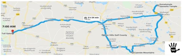 Kolar Bangalore Jeep Club Trip to Gold Mines