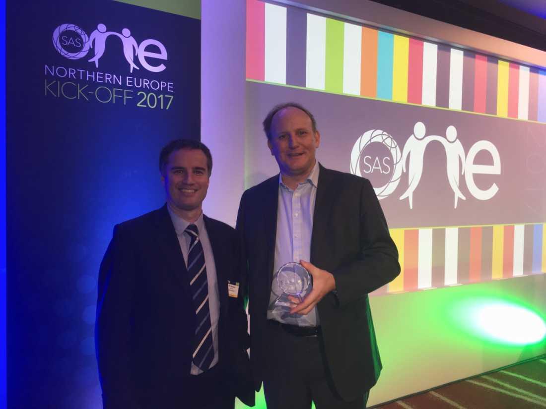 Kinaesis wins SAS Special Partnership award for BCBS 239 project success