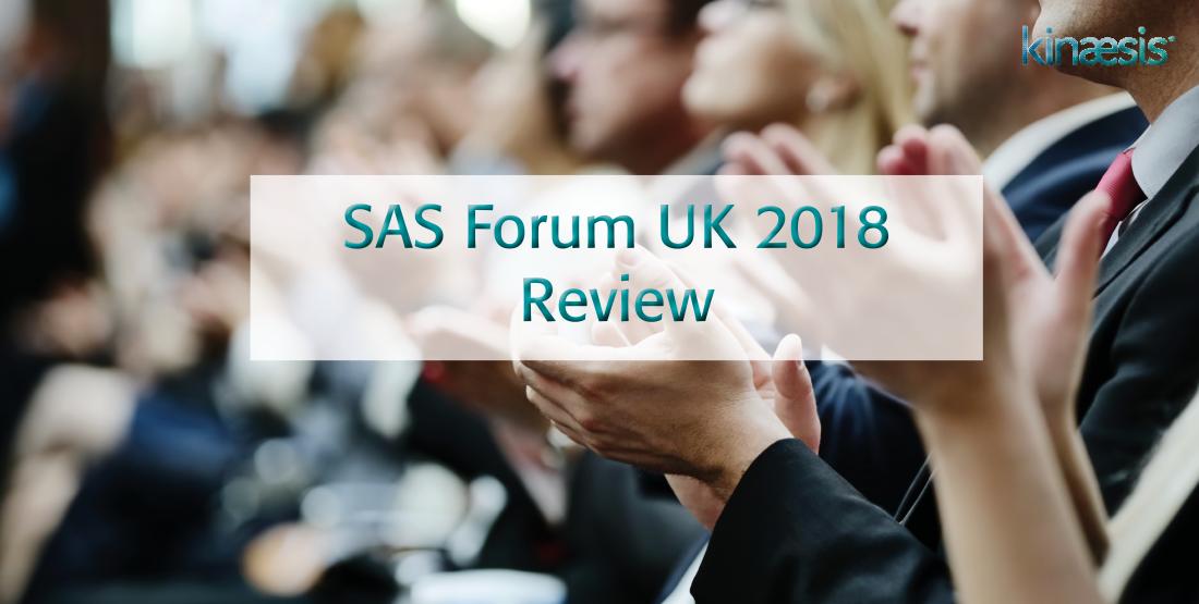 SAS Forum UK 2018 Review