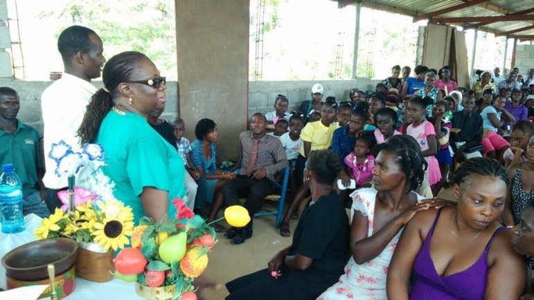 Family Fun Days in Haiti