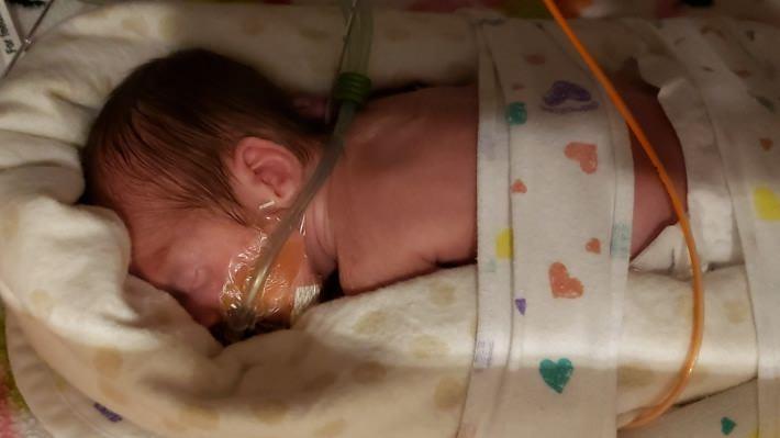 Preemie Baby Nova Lynn Miller