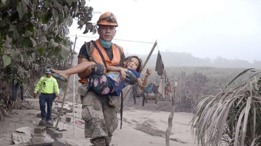Guatemalan Volcano Victims