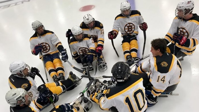 Northeast passage sled hockey