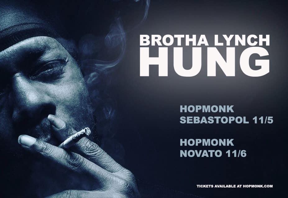 Brotha Lynch Hung at HopMonk Sebastopol