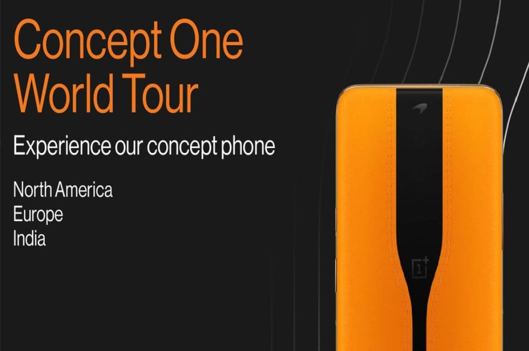 oneplus concept one world tour