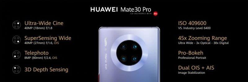 kamera huawei mate 30 pro