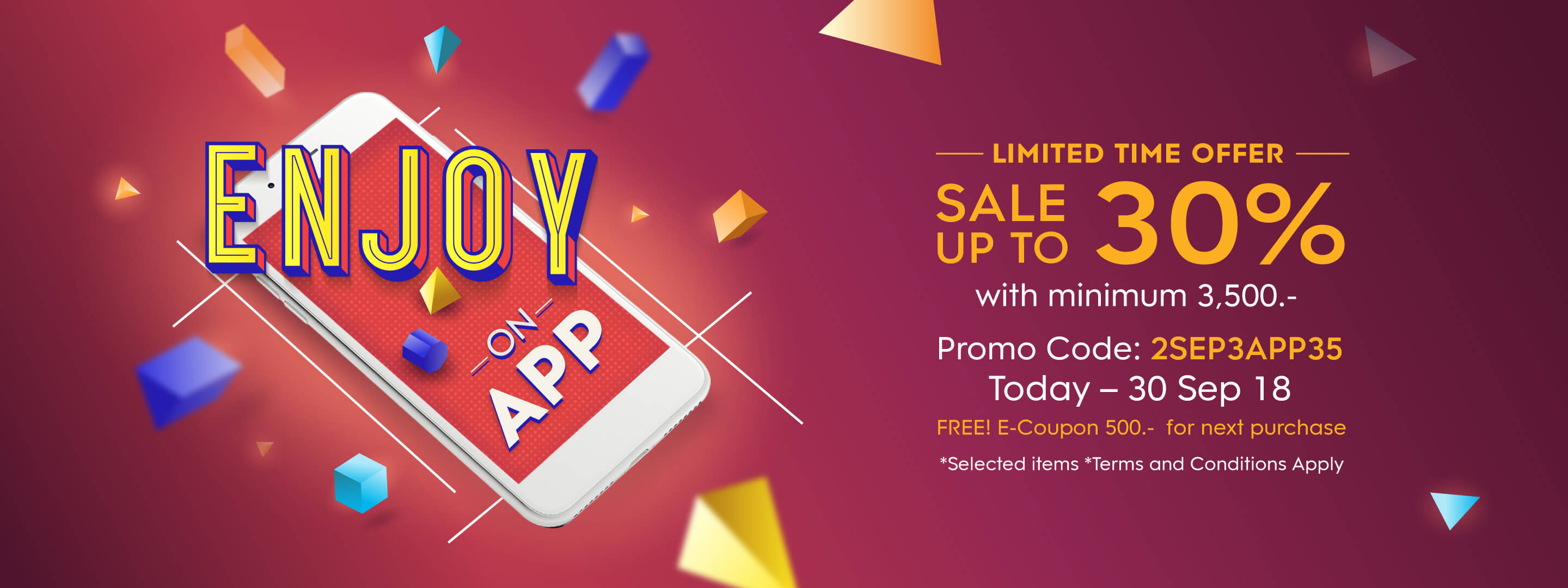 Purchasing Power Promo Code >> King Power Condition Enjoy On App Sale Up To 30 Off