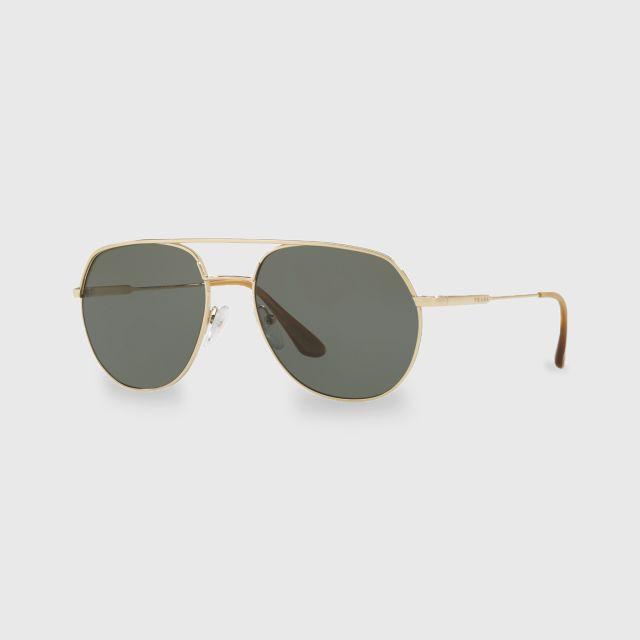 fe08a0c18d27 PRADA Metal Plaque Men Sunglasses 0PR 55US ZVN198 (57 MM)