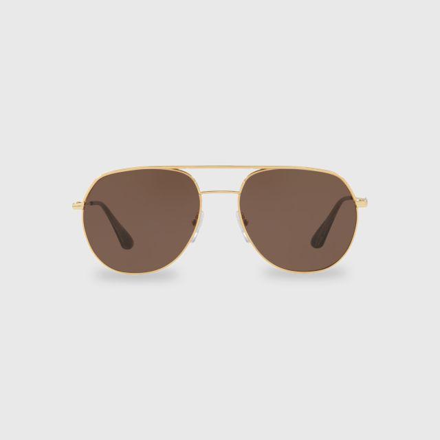 dff853a188cf PRADA Metal Plaque Sunglasses 0PR 55US 5AK8C1 (57 MM)