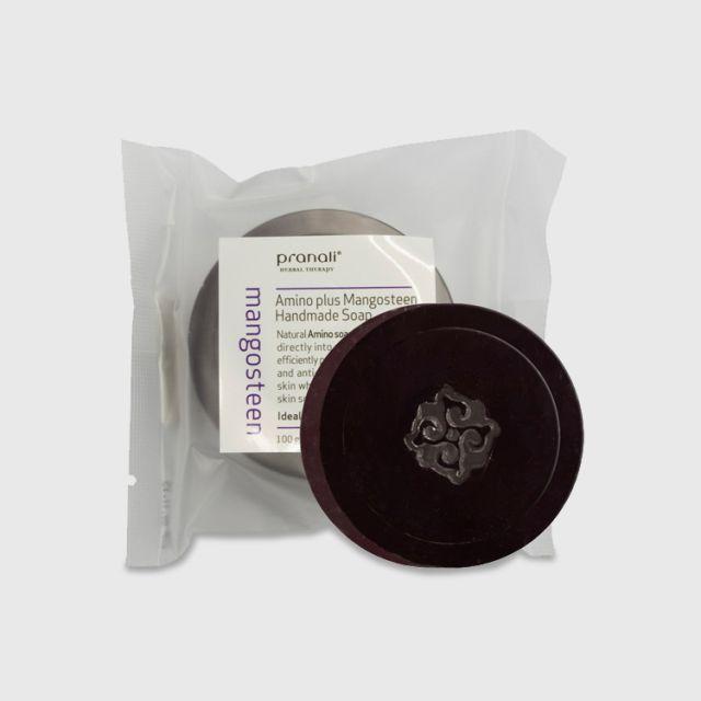 Pranali Mangosteen Amino Plus Mangosteen Handmade Soap 100g