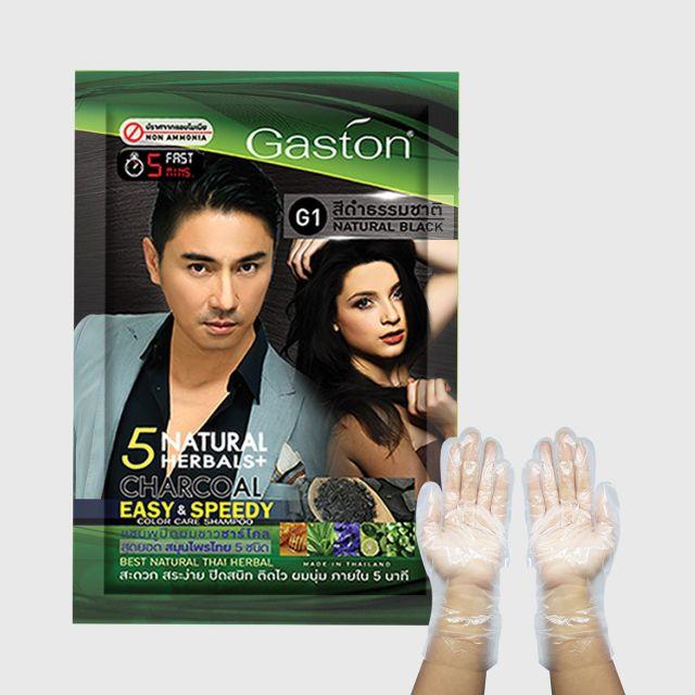 GASTON EASY & SPEEDY COLOUR CARE SHAMPOO (GREY HAIR COVER COLORING ...