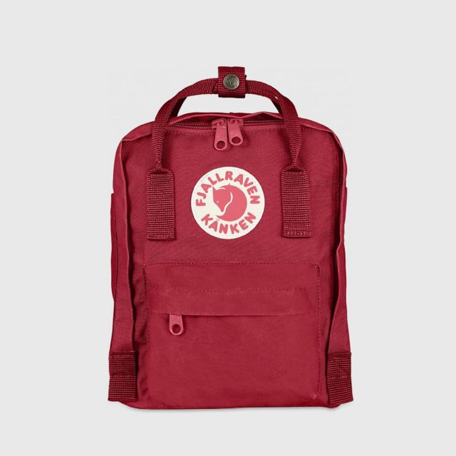 2f107515fd FJÄLLRÄVEN KÅNKEN MINI BACKPACK -DEEP RED