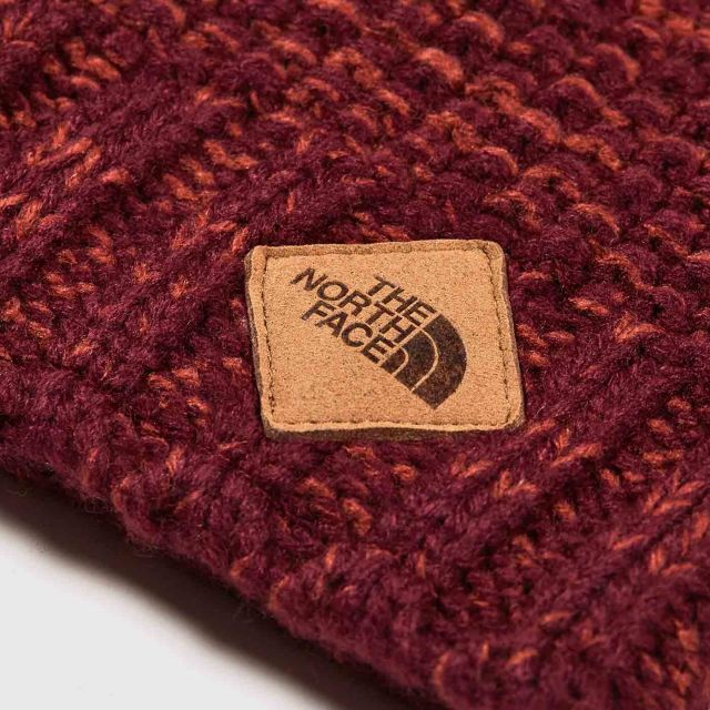 1f031b846ae THE NORTH FACE - ANTLERS BEANIE - FIG HENNA