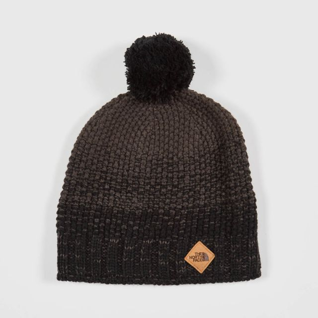 29ce673d607 THE NORTH FACE - ANTLERS BEANIE - TNF BLACK GRAPHITE