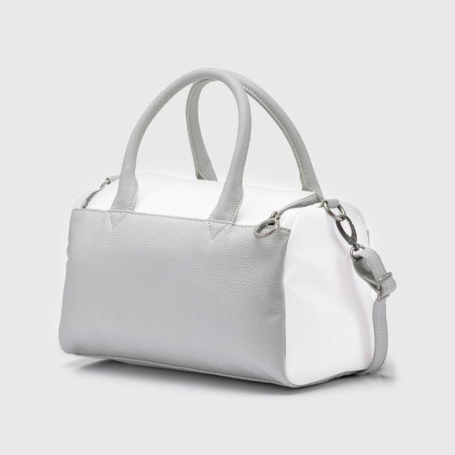 ddd8d7c987 PUMA SF LS Handbag-White-Gray Violet