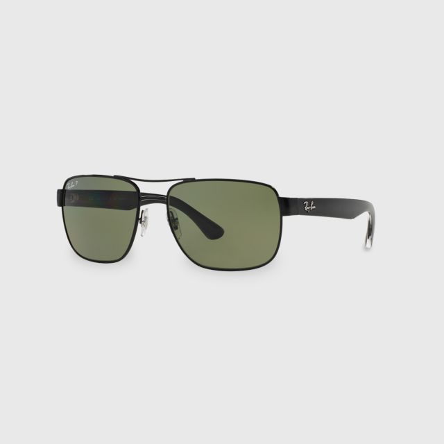 6b5251798f RAY-BAN Black Steel Men Sunglasses 0RB3530 002 9A Size 58 mm.