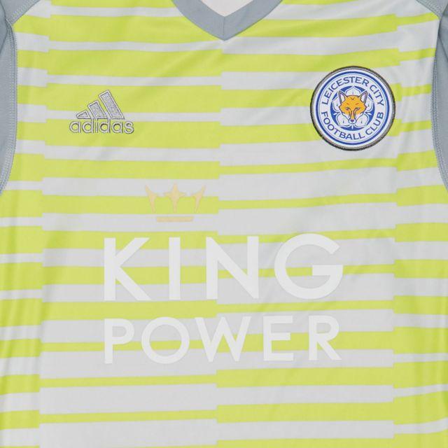 84d90110df6 Leicester City Football Club Replica Goalkeeper Away Shirt 2018-2019