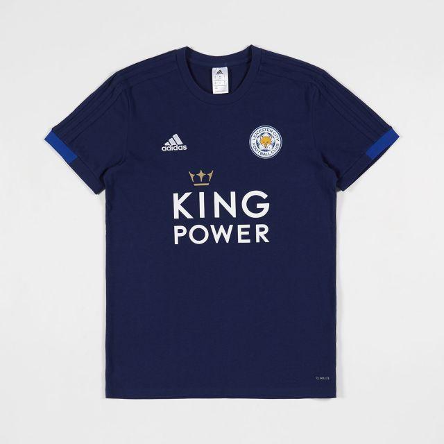 e7bedb57b53 Leicester City Football Club Blue Training Tee 2018 - 2019