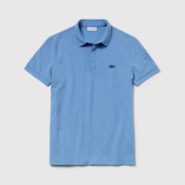 7c2b8db61b LACOSTE Men's Paris Polo Shirt Regular Fit Stretch Cotton Piqué ...