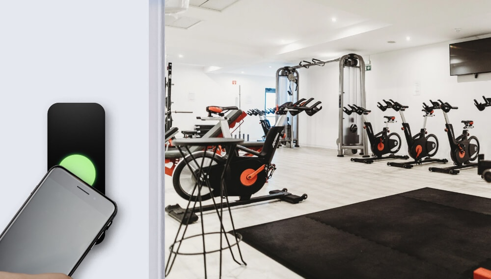Gym Door Entry System Options