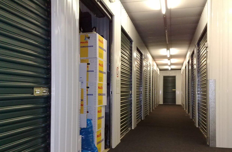 self-storage unit