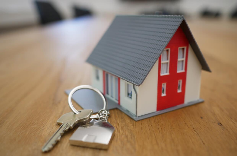 tiny house with keys