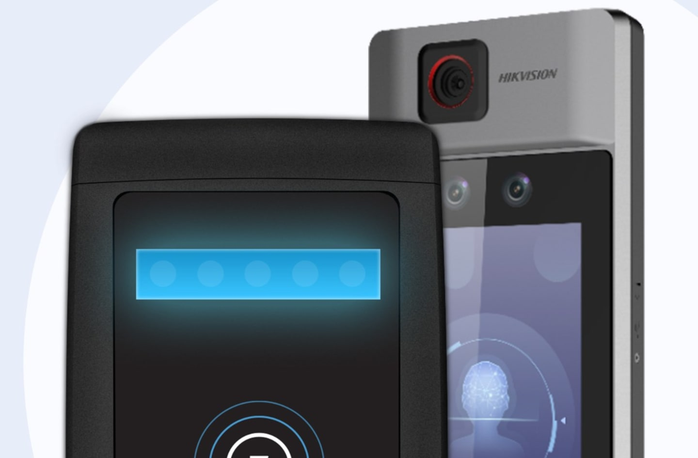 Kisi Temperature Scanning Tablet and Access Control