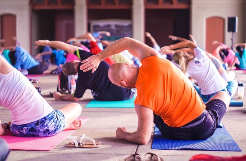 yoga center security