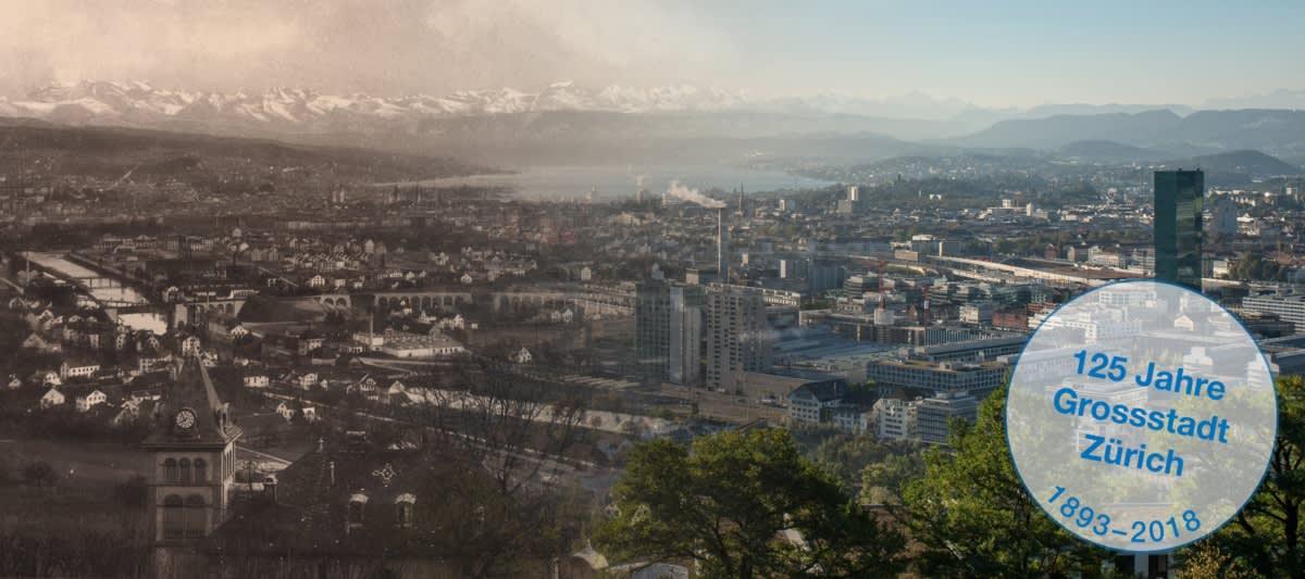 125 Jahre Grossstadt Zürich