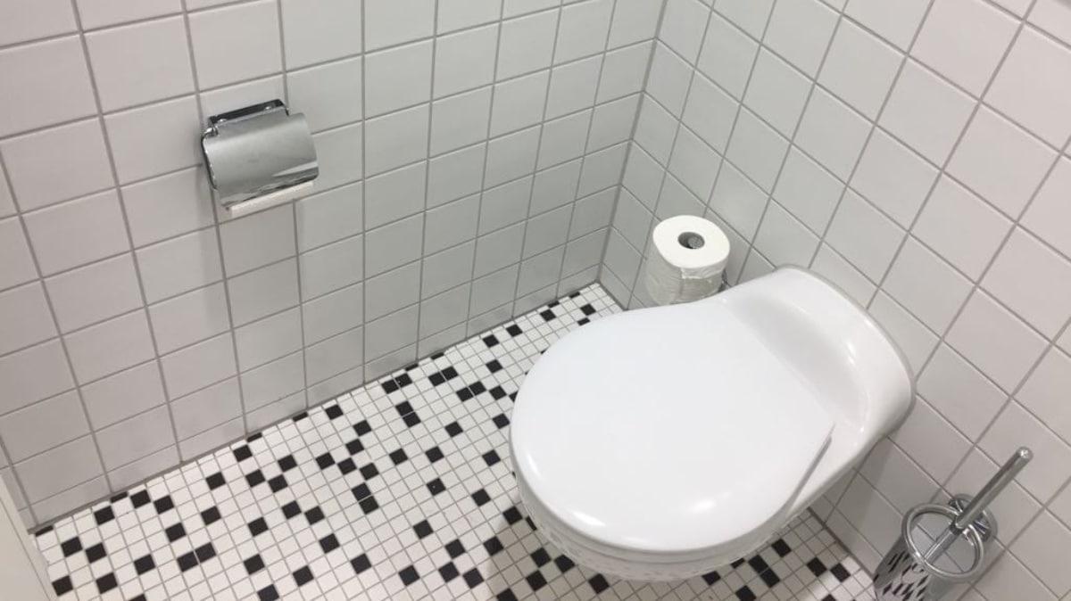 Kindergerechte Sanitäranlage