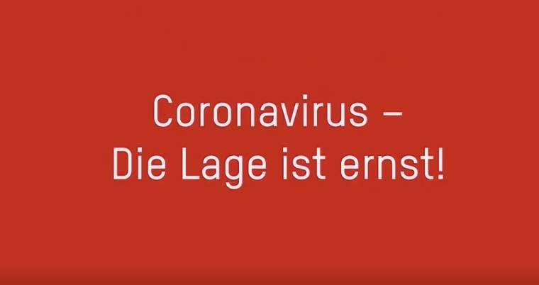 coronavirus die lage ist ernst