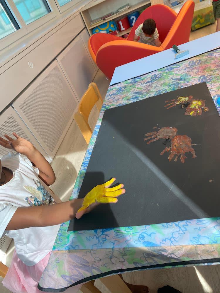 handabdruck - Kinderkrippe + Waldkinderkrippe Blüemli in Zürich