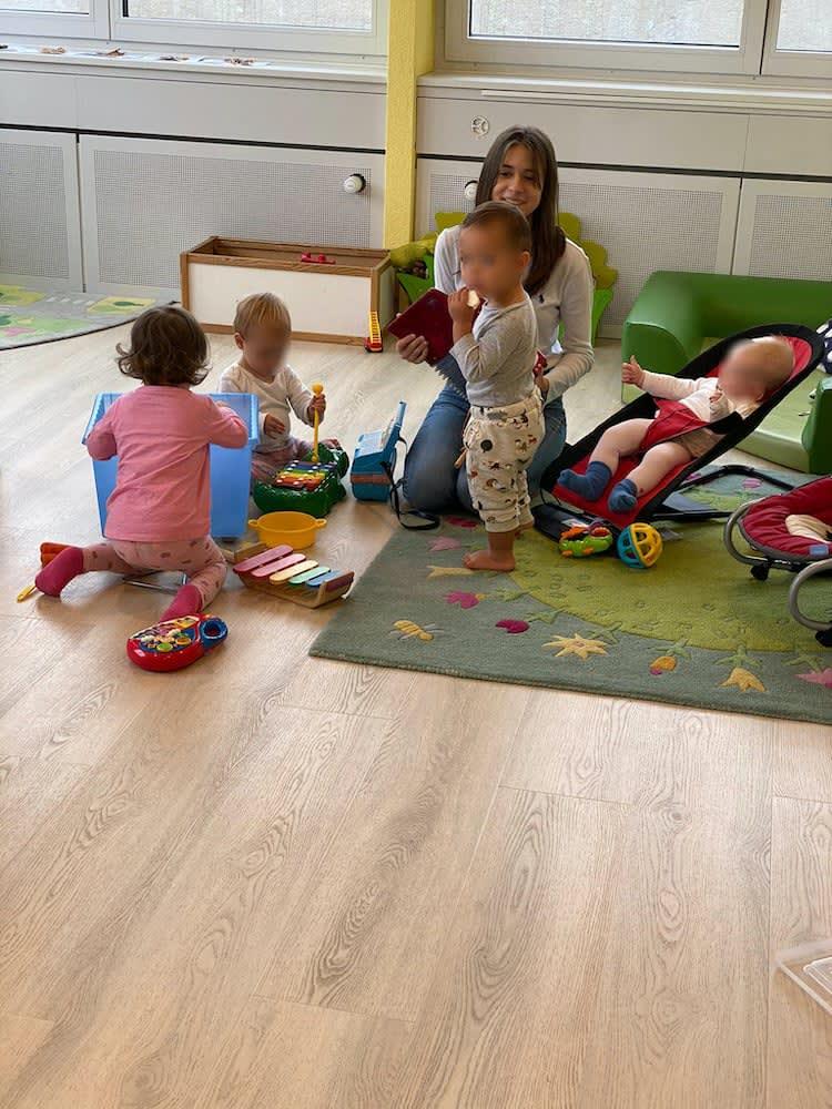 musik machen - Kinderkrippe + Waldkinderkrippe Blüemli in Zürich