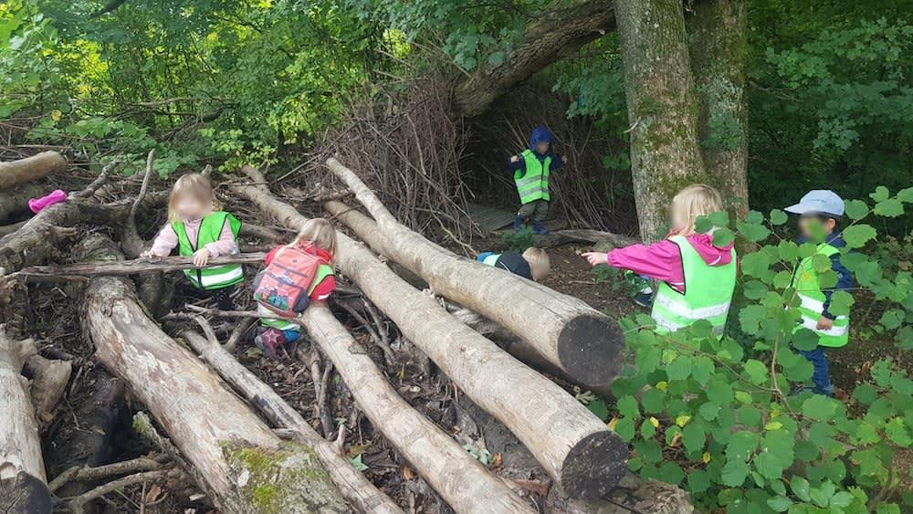 waldhütte - Kinderkrippe + Waldkinderkrippe Blüemli in Zürich