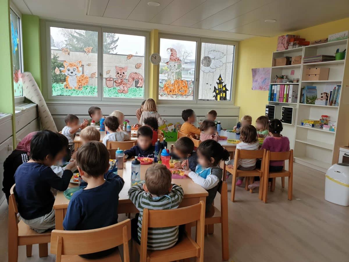 Zmittag - Kinderkrippe und Waldkinderkrippe Blüemli in Zürich Witikon