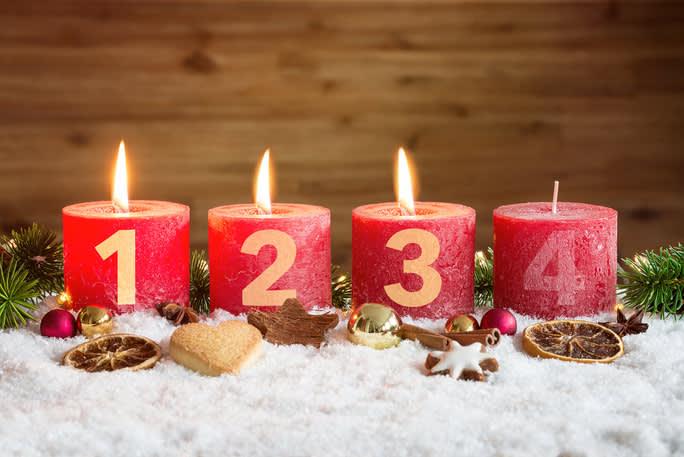 dritter advent 2020 Kinderkrippe und WaldkinderkrippeBlluemli in Zuerich Witikon