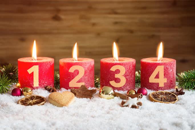 Vierter Advent 2020 Kinderkrippe und WaldkinderkrippeBlluemli in Zuerich Witikon