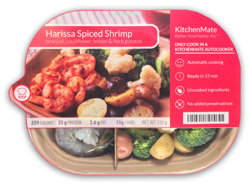 Harissa Spiced Shrimp